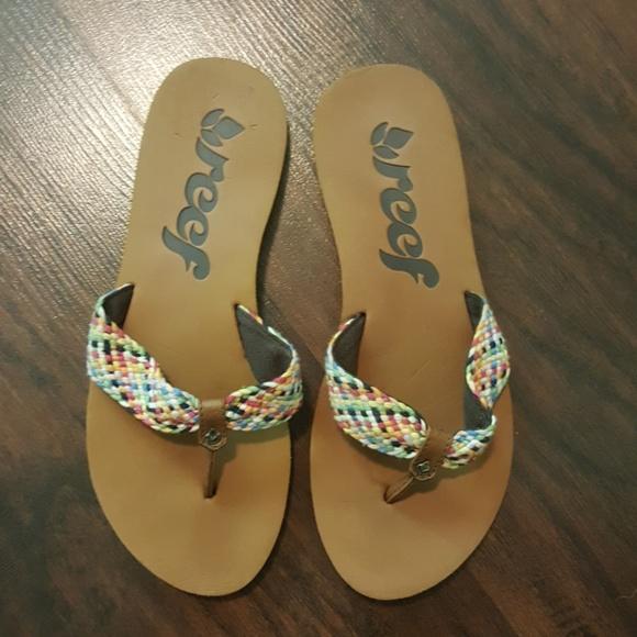 6619d371bdc Reef Sandals Flip Flop Things Size 7